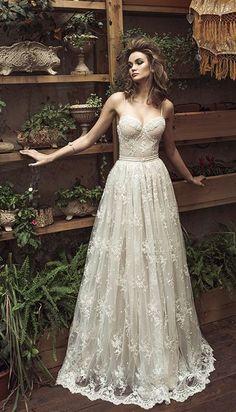 Featured Dress: Julie Vino; Wedding dress idea.