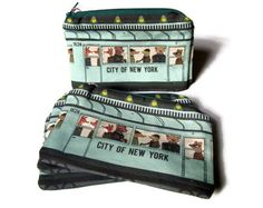 Love this New York Subway Pouch! Darn it, why has your birthday passed already? @Katie Bowman