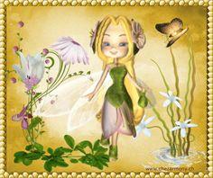 Tag d'été animé 2 - Créations Armony Fairy Music, Faeries, Tinkerbell, Enchanted, Disney Characters, Fictional Characters, Creations, Cartoon, Disney Princess
