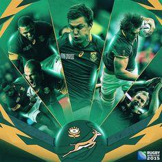 #RWC2015 Sud-àfrica #RSA #homegroundadvantage #Springboks