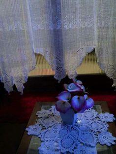 cortinas borboletas  by Crochetsruth Costa