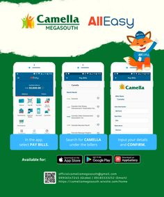 Check out these steps to settle your transactions at Camella with AllEasy! The easiest, convenient, and safest way! Make It Simple, Posts, App, Check, Blog, Saints, Messages, Apps
