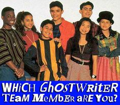 """Which """"Ghostwriter"""" Team Member Are You Ghostwriter, Favorite Tv Shows, My Favorite Things, Reaching For The Stars, Team Member, Growing Up, Tv Series, Believe, Childhood"""