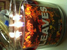 Favorite fall bath and body works candle.