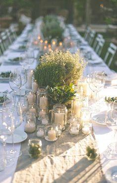 Les plus jolies tables de réception de mariage vues sur Pinterest—Pinterest: Rock My Wedding