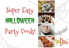 It is the day before Halloween, and you get invited at the last minute for a Halloween Party. You need to bring something to share, but you want to do something easy! Try one of these simply ghouli… Halloween Food For Party, Easy Halloween, Halloween Recipe, School Parties, Super Easy, Something To Do, Food To Make, Easy Meals, Invitations