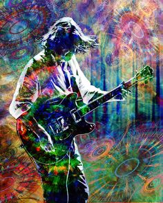 Widespread Panic Art, John Bell Painting, WSP Original Art Print by RockChromatic on Etsy https://www.etsy.com/listing/128424294/widespread-panic-art-john-bell-painting
