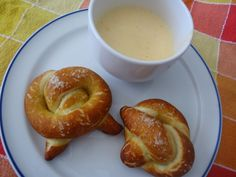 Pretzels and Spring Beer Cheese Soup  Soup recipe here: http://calledtothetable.blogspot.com/2013/04/beer-cheese-soup-spring-style.html