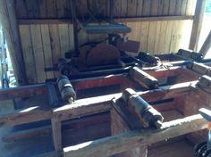 Ett gammalt sågverk.