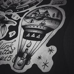 #klink #klinktattoo #kiev #kyiv #ukraine #tattooartist #artist #oldschooltattoo #oldschool #хоумтату #blacktattooart #blxckwork #traditional #traditionaltattoo #tattooart #sketch #tattoosketch #tattooflash #line #shading #flash #set #black #ink #balloon #balloontattoo #nature #mountains