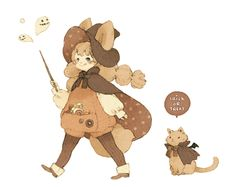 the-10th-step:  Trick or treat不給糖就搗蛋呢! 大家萬聖節快樂噢! ★ || CHARACTER DESIGN REFERENCES (www.facebook.com/CharacterDesignReferences & pinterest.com/characterdesigh) • Love Character Design? Join the Character Design Challenge (link→ www.facebook.com/groups/CharacterDesignChallenge) Share your unique vision of a theme every month, promote your art and make new friends in a community of over 20.000 artists! || ★