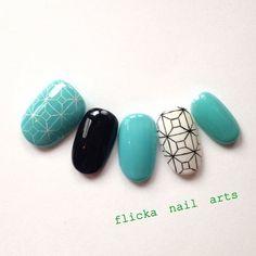 ハンド/ブルー/ジェルネイル - flicka_nailのネイルデザイン[No.415814]|ネイルブック