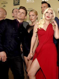 Matt Bomer & Lady Gaga || Premiere Screening Of FX's 'American Horror Story: Hotel'