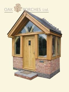 Quiet drafted rustic porch design Try it today Porch Oak, Front Door Porch, Front Porch Design, Brick Porch, Porch Designs, Porch Entry, Front Doors, House With Porch, House Front