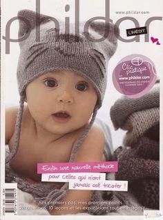 Phildar n°29 Layette 1991   Bonnet Tricot, Couture Tricot, Laine Tricot, 74122b564f6