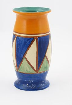 'Original Bizarre' a Clarice Cliff 265 vase