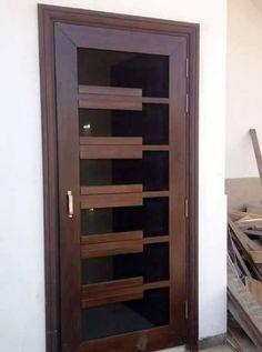 Trendy Ideas For Entrance Door Design Modern Glass Wooden Main Door Design, Room Door Design, Door Design Interior, Interior Doors, Design Interiors, Wooden Front Doors, Modern Front Door, Wood Doors, Entry Doors