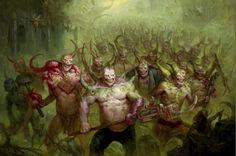 143 nejlepších obrázků z nástěnky Warhammer 40k Chaos v roce