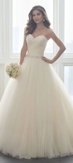 Featured Dress: Christina Wu; Wedding dress idea.