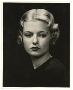 1930s Joan Bennett     photograph George Hurrell