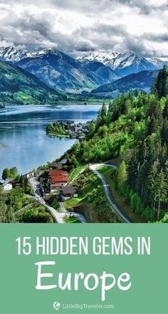 Are you looking for visiting some hidden gems in Europe? Search no more. Take a look at these 15 secret places in Europe impressing with stunning nature, unique atmosphere and rich history that are incredibly attractive to visit right now. #europe #europeancountries #greece #travel #germany
