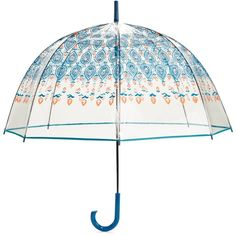 Vera Bradley Bubble Umbrella in Marrakesh (2,870 INR) ❤ liked on Polyvore featuring accessories, umbrellas, acc, marrakesh, clear umbrella, vera bradley umbrella, bubble umbrella, colorful umbrellas and vera bradley