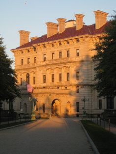 "The Breakers, Newport, Rhode Island - Just finished reading a book about this ""cottage."""
