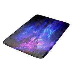 Creation's Heaven Paris Amethyst Dreams Bathroom Mat