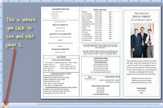 30 best lds church program templates images lds church lds