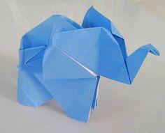 Elefante - origami fatti a mano  Elephant - origami handmade