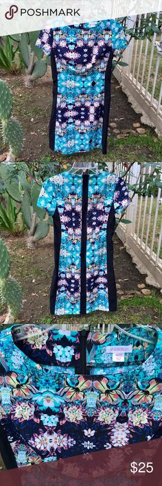 🌴🌸Beautiful Printed Summer Dress🌸🌴💙 🌴🌸Beautiful Printed Summer Dress🌸🌴💙 Perfect for any weekend outing. Has a zipper back for easy closure. Light sheer material and airy. Perfect condition. Comes from a smoke-free home:) Xhilaration Dresses Midi