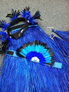 HONU 4piece Otea Costume SET by hulamelani on Etsy, $325.00