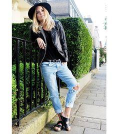 Birkenstocks are back. I mean, if Ashley Olsen is wearing them...so are we. #girlcrush