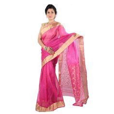 Online saree shops at Sreevas ₹6,052.00 Shop -> https://goo.gl/6sc5TG Contact - 7441115111 #ChanderiSarees #SplendidPink #LookTraditional #Smart #LatestFashion #Fancy #Join #SareeMania