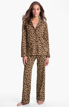DKNY Patterned Knit Pajamas | Nordstrom