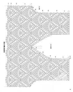 Trendy Crochet Clothes For Women Summer Crochet - Diy Crafts - maallure T-shirt Au Crochet, Mode Crochet, Crochet Shirt, Crochet Diagram, Crochet Woman, Crochet Stitches, Crochet Baby, Crochet Patterns, Crochet Bikini