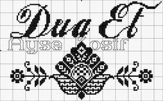 Bargello, Cross Stitch Patterns, Diy And Crafts, Alphabet, Islam, Letters, Embroidery, Instagram, Handmade