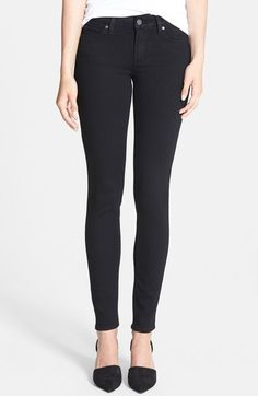 Shop a great selection of PAIGE Transcend - Verdugo Ultra Skinny Jeans (Black Shadow). Find new offer and Similar products for PAIGE Transcend - Verdugo Ultra Skinny Jeans (Black Shadow). Night Outfits, Casual Outfits, Cute Outfits, Casual Heels, Winter Outfits, Summer Outfits, Jeans Skinny, Paige Jeans, Black Skinnies
