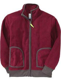 Boys Micro Performance Fleece Jackets