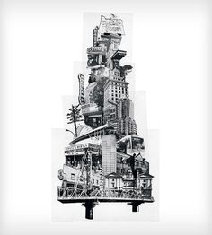 Tower of Portland Art Print by Beth Kerschen on Scoutmob Shoppe    Like I personally NEED this!!!!