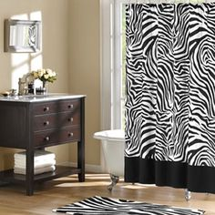 Wild Side Microfiber Shower Curtain - jcpenney