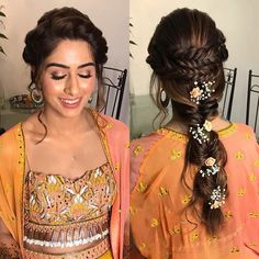 Four Vogue Floral Hairstyles for Brides to Look Gorgeous on the Wedding Day wedding hairstyles Four Vogue Floral Hairstyles for Brides to Look Gorgeous on the Wedding Day Bridal Hairstyles With Braids, Engagement Hairstyles, Bridal Braids, Bridal Hairdo, Braided Hairstyles For Wedding, Bridal Hair And Makeup, Bride Hairstyles, Braided Updo, Celebrity Hairstyles