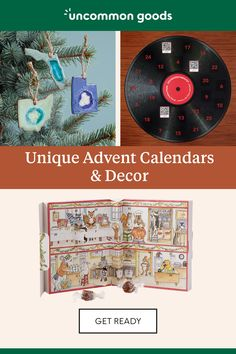 Hate boring gifts? Us too. Shop unique & handcrafted Christmas decor, advent calendars, and gifts at Uncommon Goods.