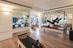 Michal's Pilatis Studio - contemporary - home gym - other metro - by 2 designers