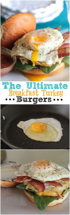 The Ultimate Breakfast Turkey Burgers