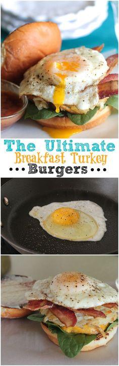 The Ultimate Breakfast Turkey Burgers
