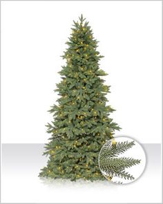 Enjoy the benefits of a real Christmas tree without the fuss of maintenance with the Columbia Valley Slim Fir.