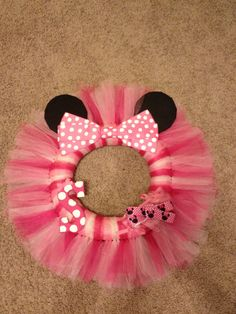 Minnie Mouse Wreath by TheSmithStore on Etsy
