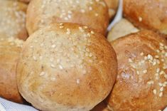 .. chute a vône mojej kuchyne...: Rychle celozrne zemlicky Russian Recipes, Bread Recipes, Catering, Bakery, Potatoes, Vegetables, Cooking, Blog, Polish
