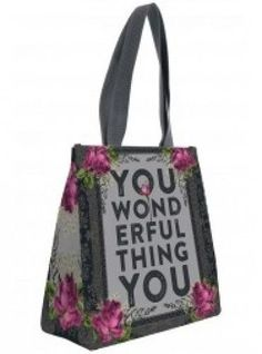 "INSULATED LUNCH TOTE BAG ""WONDERFUL YOU"""" by PAPAYA ART NWT #PAPAYAART…"